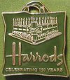 Pins_harrods_celebrating_150_years