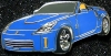 Pins_fairlady_z_roadstar_blue_color