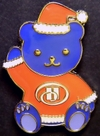 Pins_hilton_hotels_christmas_bear