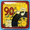 Pins_okazaki_city_90th_anniversary