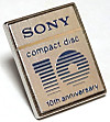 Pins_sony_compact_disc_10th_anniv